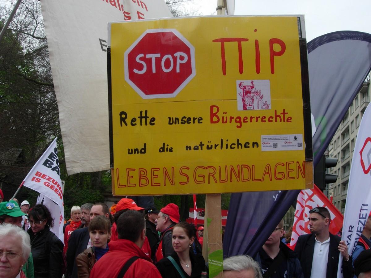 TTIP Buergerrechte-Lebensgrundlagen,Bruessel,4.4.2014