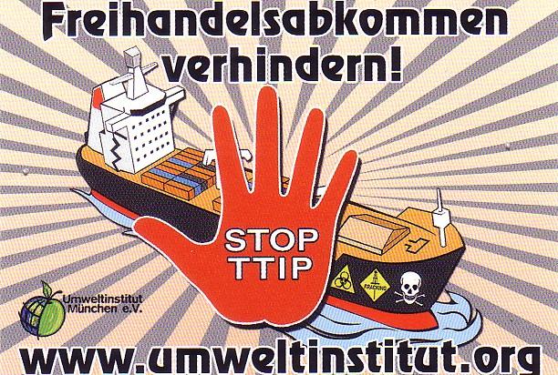 TTIP Logo Umweltinstitut