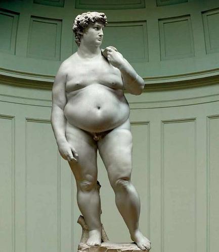 fat David