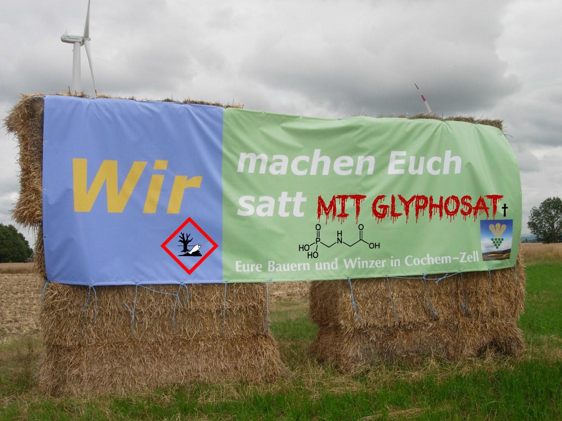 Wir machen Euch satt mit Glyphosat Bauern als Giftboten 200715 modifiziert