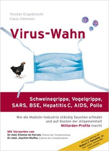 Buchcover Virus-Wahn