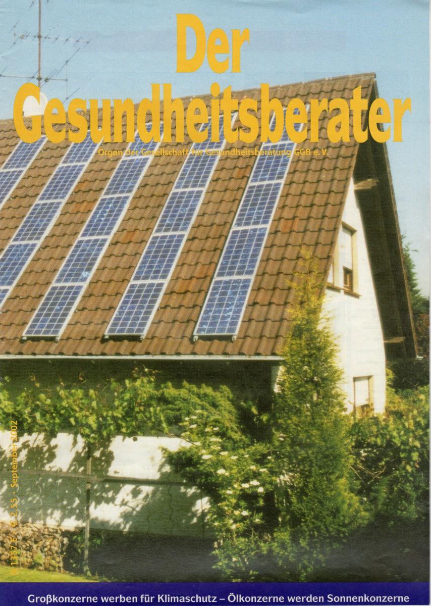 Cover Heft Der Gesundheitsberater 09-2002