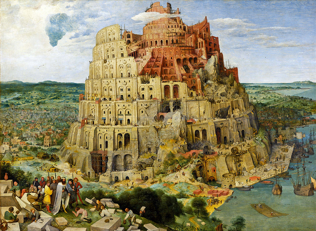 Der Turmbau zu Babel - Pieter Brueghel 1563