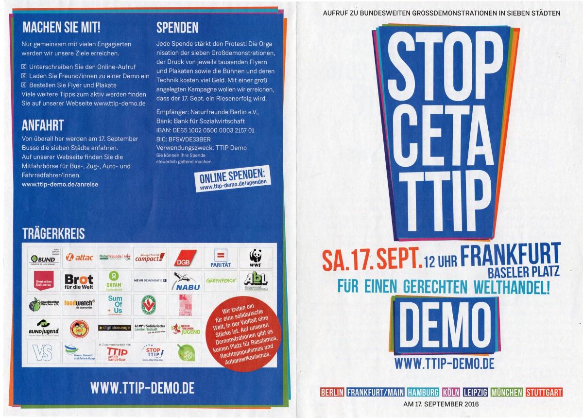 Aufruf STOP CETA TTIP 1 17092016